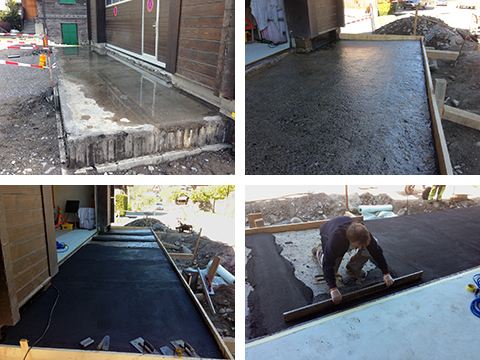 We Encountered Waterproofing Problems When We Were Renovating A Garage  Access Ramp, Together With A Definite Counter Slope Towards The Building.